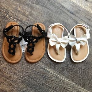 BUNDLE !! Size 5 Cherokee Toddler Sandals